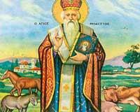 Rugaciunea Sfantului Modest pentru animale