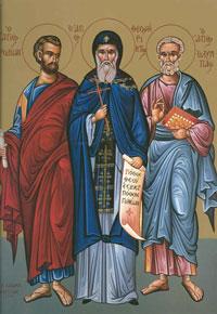 Sfintii Apostoli Rodion, Olimp, Erast, Sosipatru si Cuart