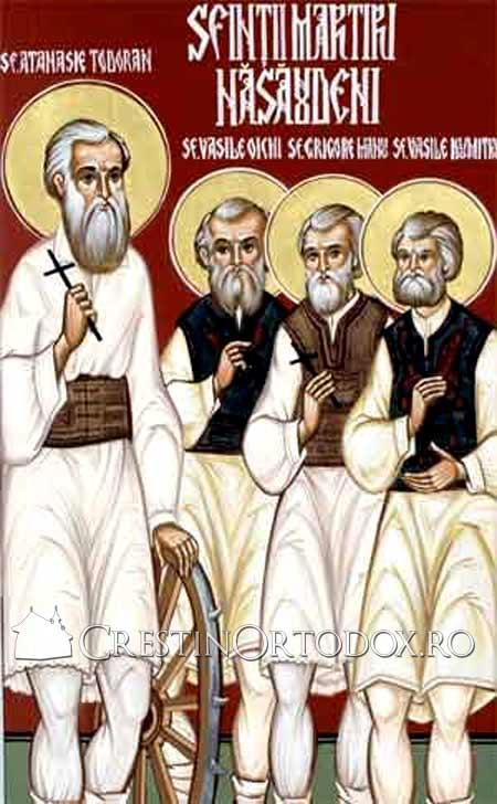 Sfintii Nasaudeni Atanasie Todoran, Vasile din Zagra, Grigorie din Telciu si Vasile din Mocod