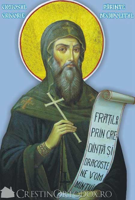 Sfantul Grigorie Decapolitul