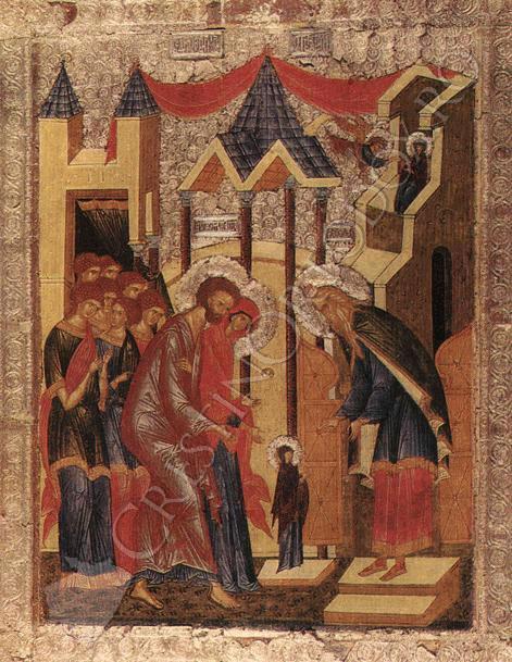 Intrarea Maicii Domnului in Biserica