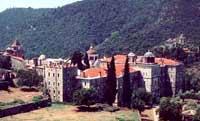 Manastirea Cutlumus - Sfantul Munte Athos