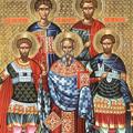 Sfintii Mari Mucenici Eustratie, Auxentie, Evghenie, Mardarie si Orest