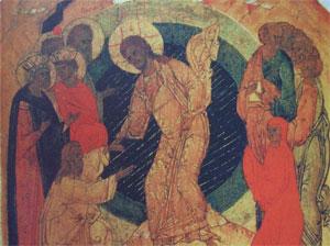 Sfantul Ioan Botezatorul, propovaduitor al celor din iad
