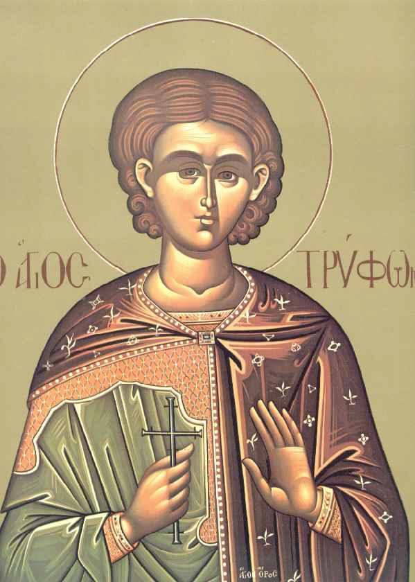 Sfantul Mucenic Trifon - 01 februarie
