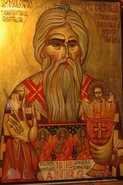 Sfantul Meletie, Arhiepiscopul Antiohiei