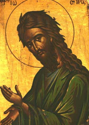 Cantare de lauda la Sfantul Ioan Botezatorul