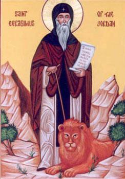 Sfantul Gherasim de la Iordan