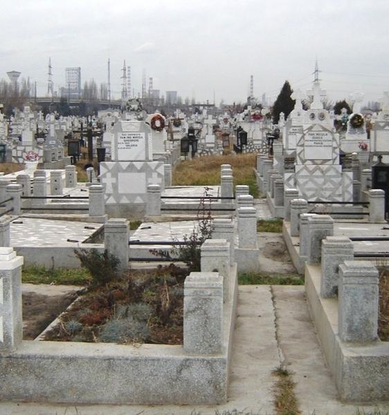 Loc de veci in cimitirul Berceni II