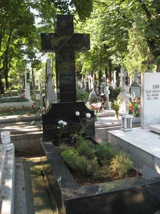 Loc de veci in Cimitirul Bellu Catolic