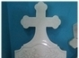 Monument funerar din marmura alba