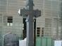 Monument funerar din granit gri