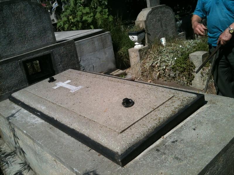 Loc de veci in cimitirul Marcuta - Pantelimon