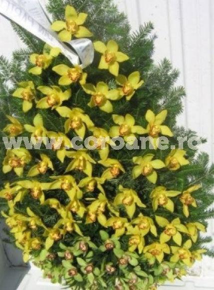 Coroana din orhidee imperiala