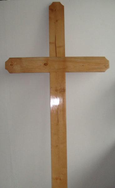 Cruce funerara lemn