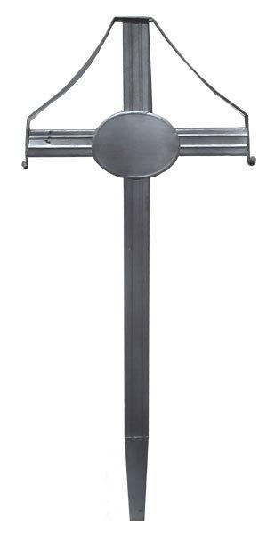 Cruce funerara metal