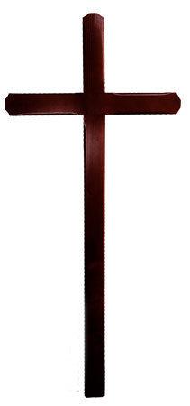 Cruce funerara nuc