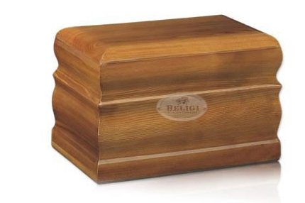 Urna funerara din lemn