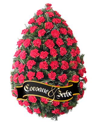 Coroana garoafe rosii