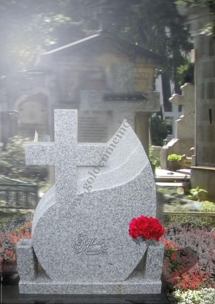Monument funerar - Model lacrima