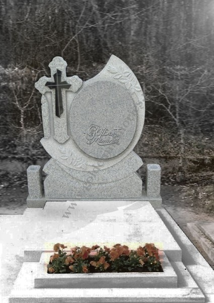 Monument funerar - Model oglinda