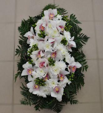 Jerba cu orhidee si crizanteme