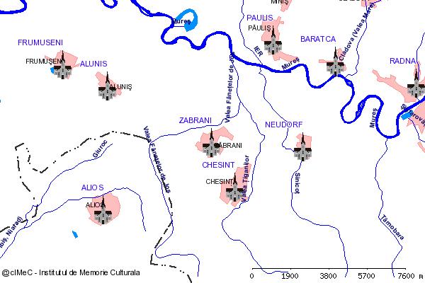 Biserica( adresa: 529 )-ZABRANI (com. ZABRANI)