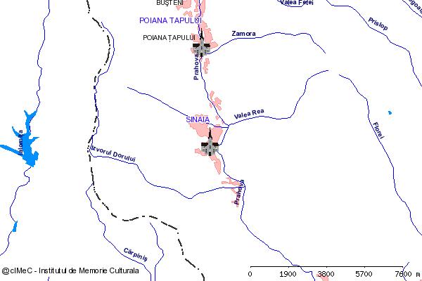 Manastirea Sf. Treime Sinaia (str. Manastirii 2, DN1)-SINAIA