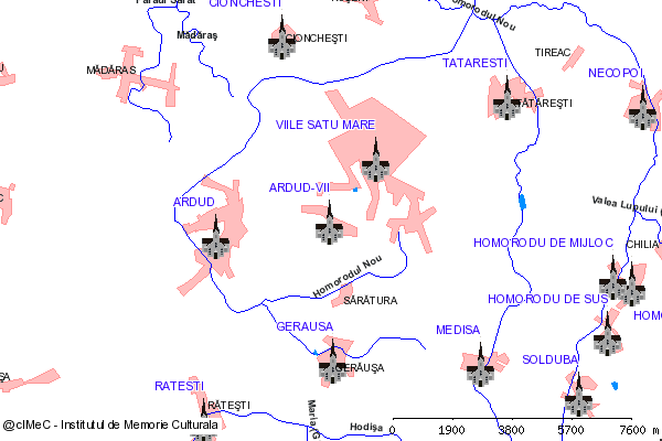 Capela-ARDUD-VII, oras ARDUD