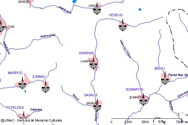 Biserica fortificata( adresa: 43 )-CHIRPAR (com. CHIRPAR)