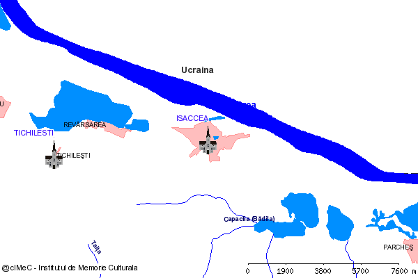 Paraclis (la 6 km S de oras)-ISACCEA