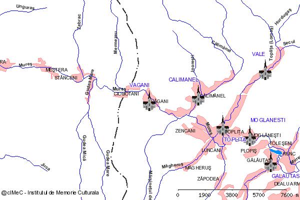 Paraclis-VAGANI, oras TOPLITA